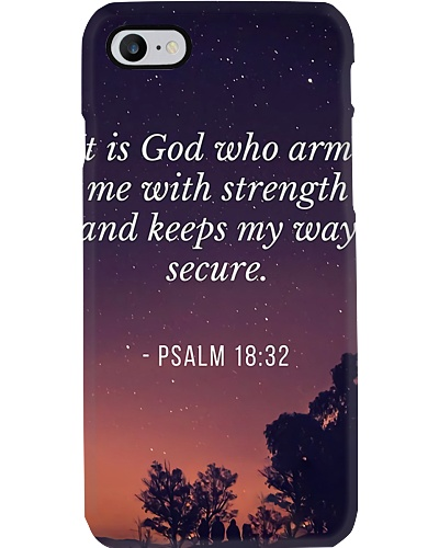 God With Strength Phone Case YTH0