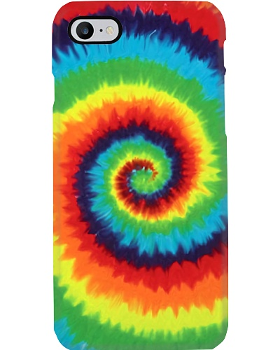 Rainbow Tie Dye Phone Case YHG6