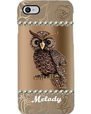 Gorgeous Owl Personalize Phone Case YHT7 Phone Case i-phone-8-case