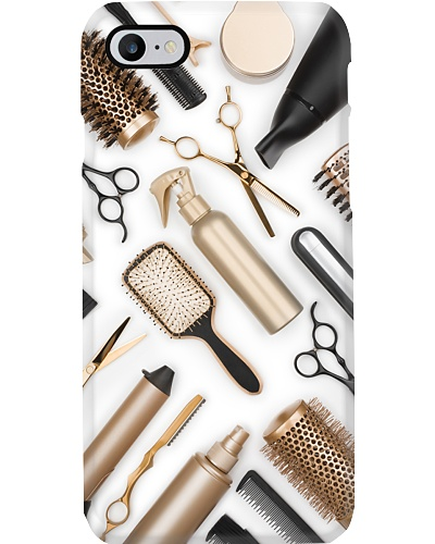 Hairstylist White Phone Case QE15