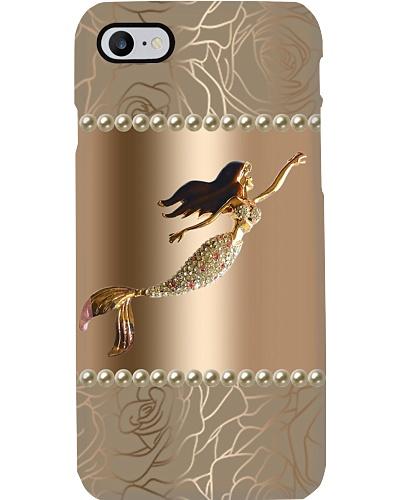 Golden Mermaid Phone Case YNA4