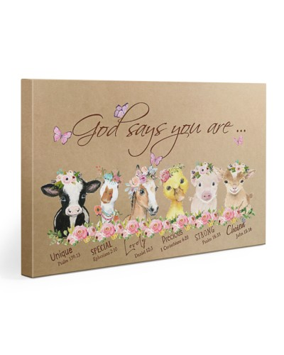 Farm Animals Horizontal Canvas YTA4