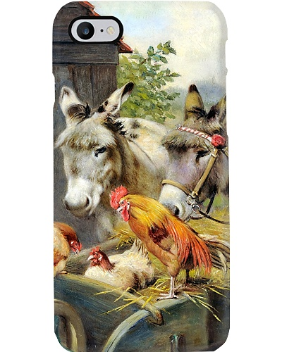 Roosters And Donkeys Phone Case LA99