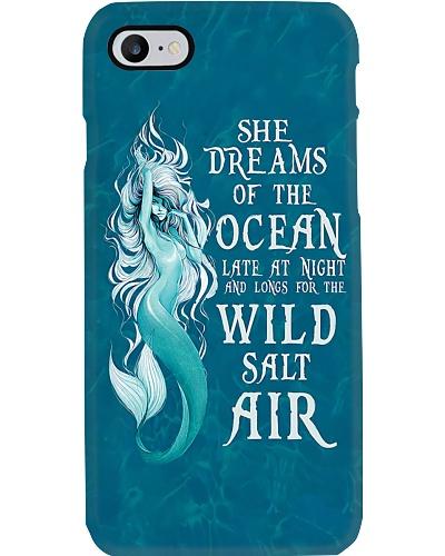She Dreams Of The Ocean V2 Phone Case YHN2