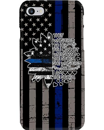 I Am A Storm Police Phone Case NO96