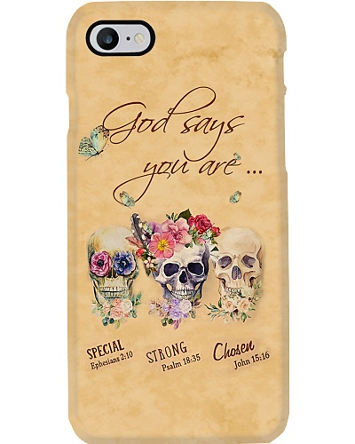 God Says You Are Phone Case YHT5