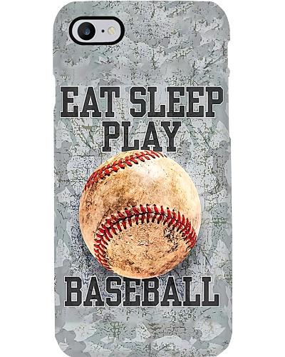 Eat Sleep Play Baseball Phone Case N31D1