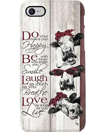 Three Happy Cows Phone Case L09F2