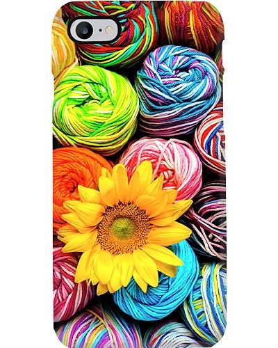 Yarn With Sunflower Phone Case YHL3