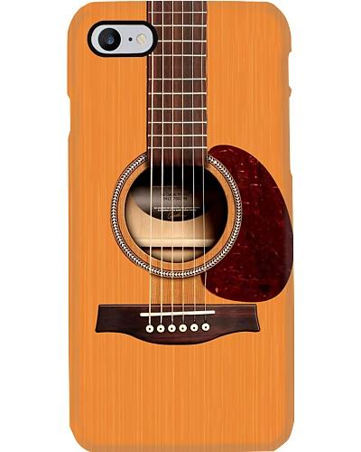 Wooden Guitar Phone Case LA99