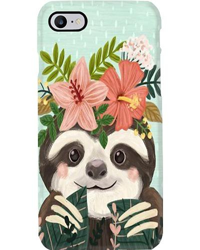 Cute Sloth Phone Case N31D1