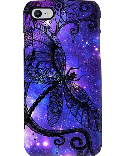 Purple Dragonfly Phone Case YTV5