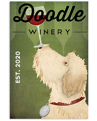Doodle Winery Vertical Poster YLH1