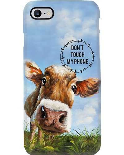 Cow Don't Touch My Phone Phone Case YTP0