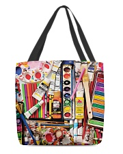 Painting Supplies Weekender And Tote Bag H25P3 All-over Tote front