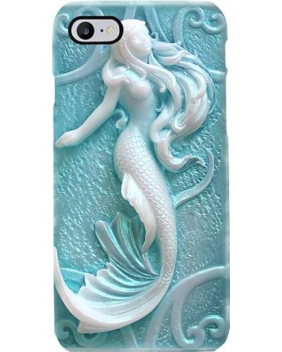 White Mermaid  Phone Case LA99
