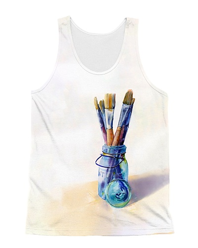 Blue Painting Brushes CH03
