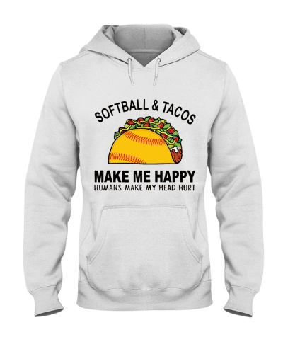 SOFTBALL AND TACOS MAKE ME HAPPY TL10