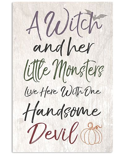A witch and her monsters Vertical Poster YTA8