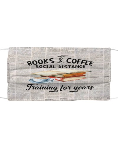 Book And Coffee Mask YHD4