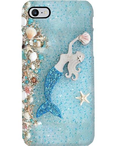Blue Mermaid Star Phone Case HU29