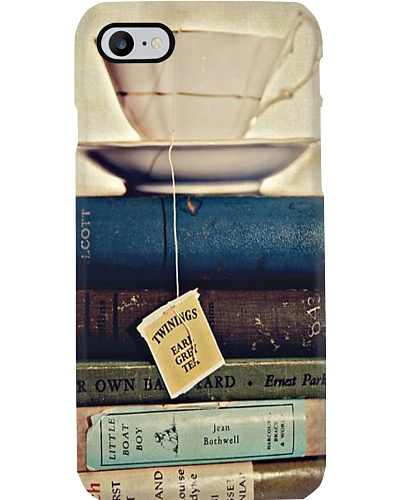 Book And Tea Phone Case YHN2
