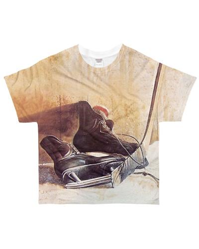Hockey Skates And Stick YHN3