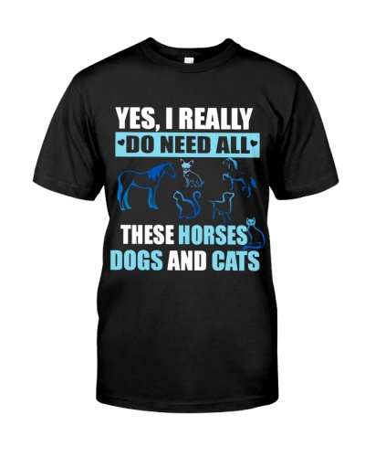 Need all Horses Dogs and Cats DC13