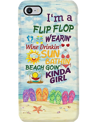 Flip Flop Kinda Girl Phone Case YKH4