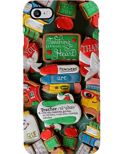 Teaching Is A Work Of Heart Phone Case HT10