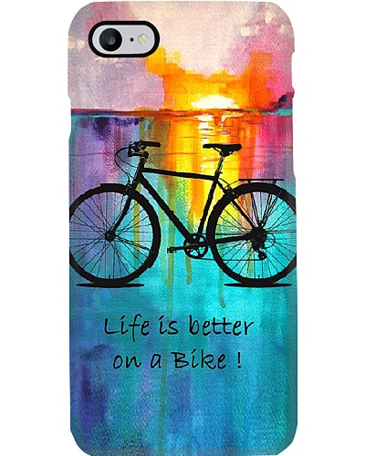Life Is Better On A Bike Phone Case YLT6