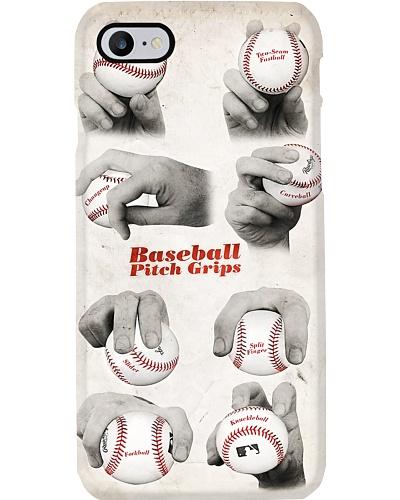 Baseball Pitch Grips Phone Case LV01