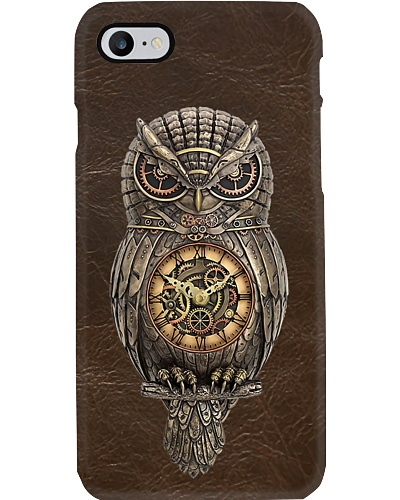Ancient Owl Leather Phone Case YTH0