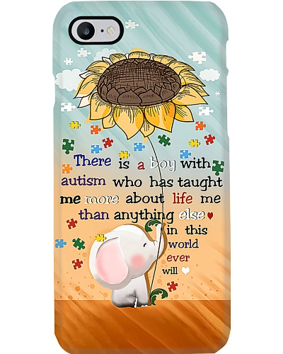 A Boy With Autism Phone Case CH03