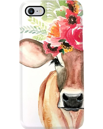 Flower Cow Phone Case M09T9