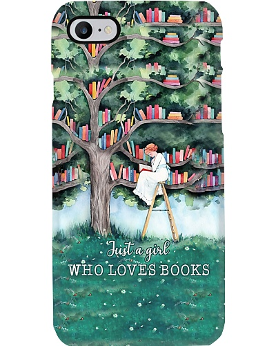 Just A Girl Who Loves Books Phone Case YHN2