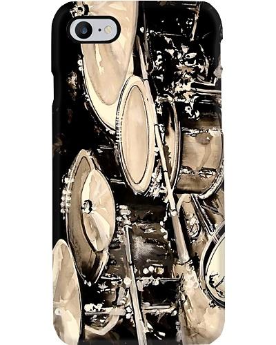 Vintage Drum Set Phone Case CH03