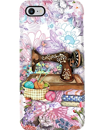 Floral Quilting Phone Case YHN2
