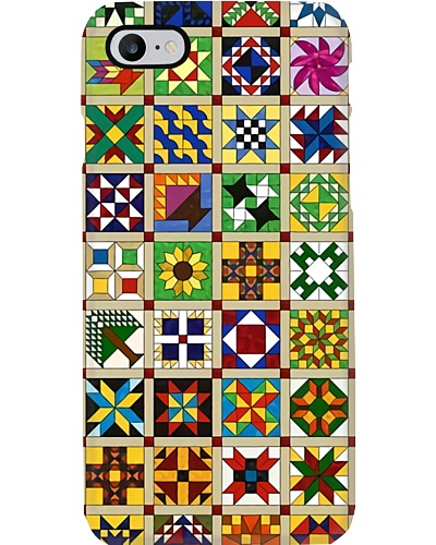 Colorful Quilting Blocks Phone Case YHD4