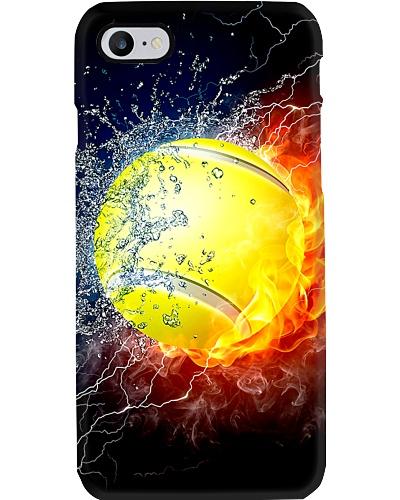Water Fire Tennis Phone Case CH03