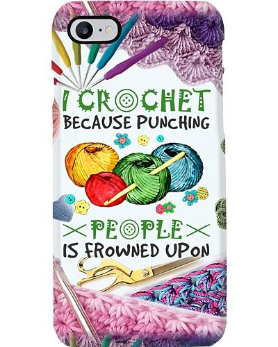 I Crochet Phone Case HU29