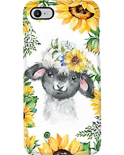 Sunflower Sheep Phone Case D19T9