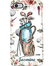 Golf Florals Personalized Phone Case QE25 Phone Case i-phone-8-case