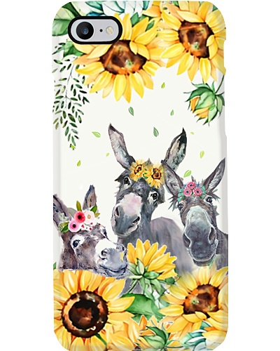 Lovely Baby Donkeys Phone Case YLD9