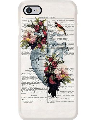 Heart Peony Phone Case CH03