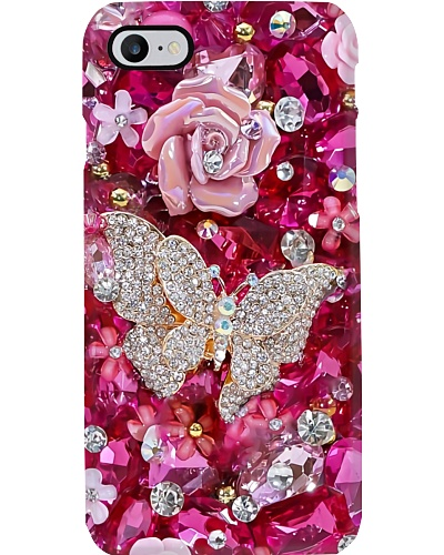 Pink Butterfly Phone Case HU29