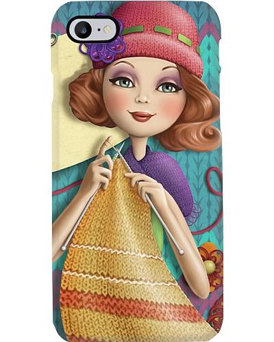 Vintage Knitting Phone Case YTL2