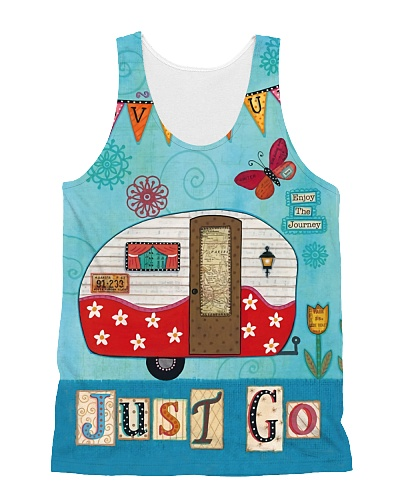 Just Go Camping Tank Top QE25