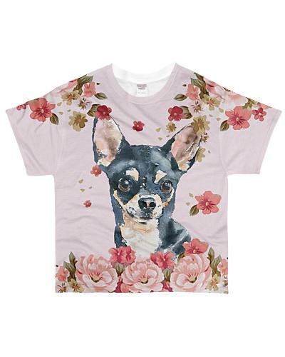 Chihuahua Flowers YHG6