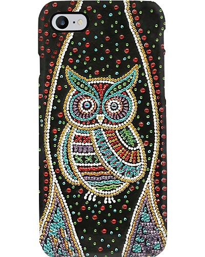 Sparkling Owl Phone Case YPM0